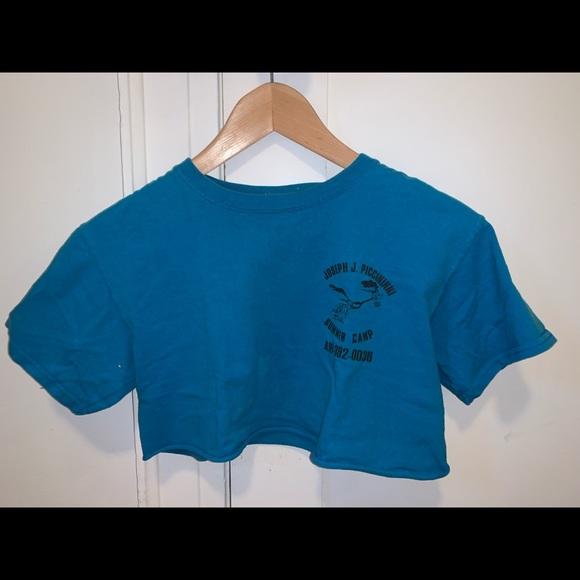Joseph J Piccininni cropped T-shirt
